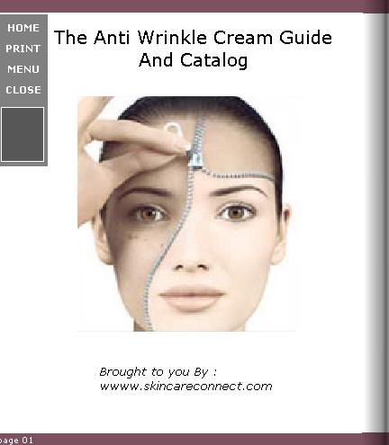 Anti Wrinkle Cream screen shot